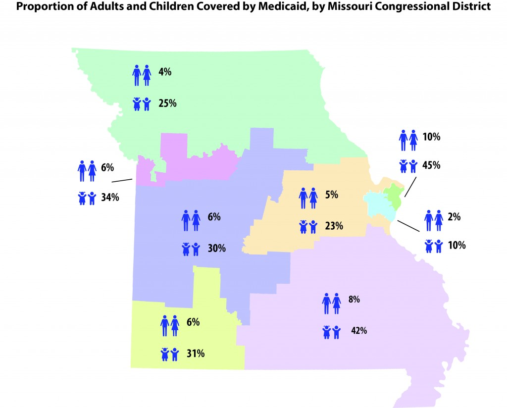 MO Congressional Districts with title