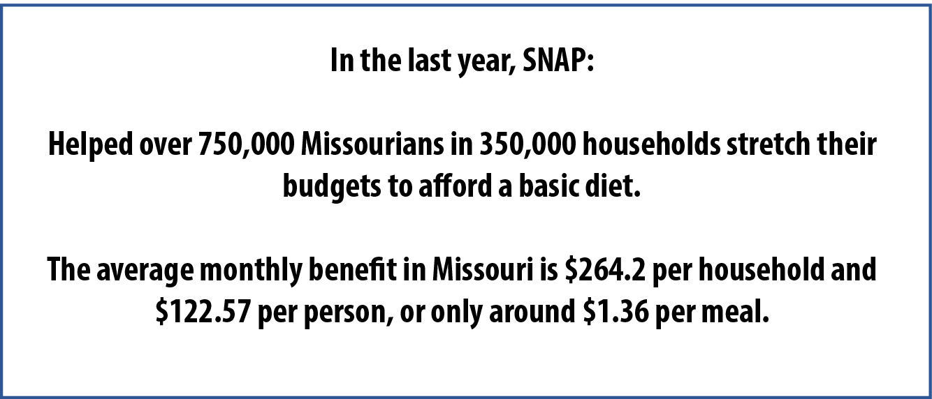 Food Costs With Food Stamps Missouri